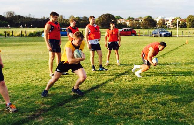 Melbourne Rugby Club Training